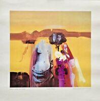 "ALEJANDRO OBREGON,MEMORIAS DE GRECIA1971.Printed Repro,11.5""w x 11""h. PROPALCOTE"