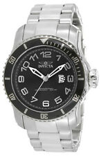 Invicta Pro Diver 15072 Men's Round Black Analog Date Stainless Steel Watch