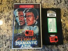 EL ROBO DEL DIAMANTE AZUL aka TEN MILLION DOLLAR GRAB RARE SPANISH DUBBED VHS!
