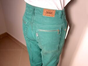 90er 90s LEVI'S 827 W27 Cord Hose Jeans Karotte Tapered True Vintage High Waist