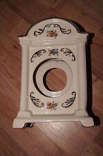 old vintage bencraft stoke-on trent England ornate ceramic for clock 1920s
