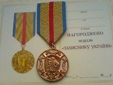 2016  Defender of Ukraine Ukrainian Military Patriotic  ATO Medal
