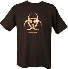 BIO BIOHAZARD T Shirt Black Army 1157 Kit