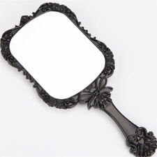 Vintage Repousse Butterfly Pattern Mirror Makeup Hand Held Cosmetic Gril Gift