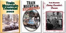 """Train Mountain Trienniel 3 DVD Set- 2003 2006 2009 -  7.5"""" Live Steam"""