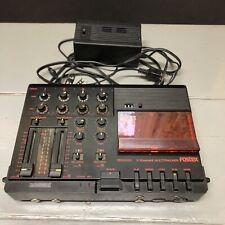 Fostex X-15 MultiTracker Cassette Recorder Tape Deck Not Working Powers Up Read!