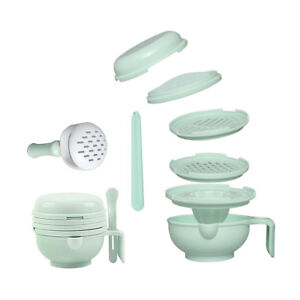Baby Infant Food Fruit Vegetable Grinder Bowl Mill Blender Masher Set