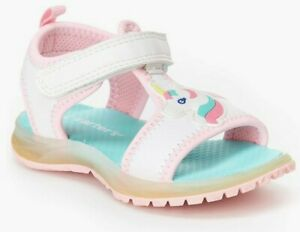 BRAND NEW CARTERS Girls Infant toddler LIGHT UP UNICORN ATHLETIC SANDALS CHOOSE