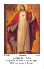"Fleißbildchen Heiligenbild Andachtsbild Holy card ars sacra""H1997"" MESSOPFER"