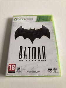 Microsoft Xbox 360 Game Batman The Telltale Series Season Pass Disc New Sealed