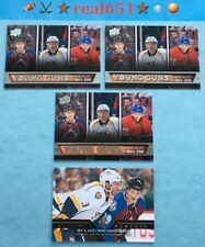 2013 NATHAN MacKINNON Rookie Lot x 4 RC | SP Authentic Young Guns CL | Colorado