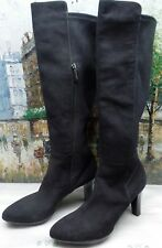 Aquatalia Raine Stretch Suede Knee-High Boots - Size 10 - $650