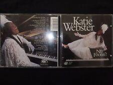 CD KATIE WEBSTER / NO FOOLIN' ! /