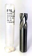 RUBIG CARBIDE ENDMILL 30 DEGREE K30F 16X16X27X82 Z4 FLAT BRIGHT