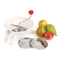 100% Genuine! AVANTI Classic Rotary Food Mill with 3 S/S Interchangeable Discs!