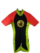 New listing Body Glove Neon Bright Colorful Neoprene Swimming Surfing Wet Suit Men's Small