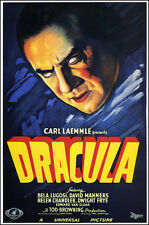 "Dracula Movie Poster  Replica 13x19"" Photo Print"