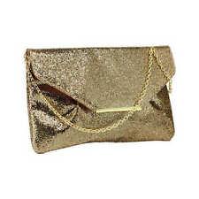 Sparkly Gold Clutch Bag