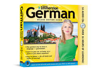 German Language Beginner to Advanced 17 CD +Transcripts ( INSTANT IMMERSION)
