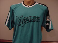 VINTAGE 1990's Florida Marlins Adult Sz XL Teal Starter Jersey, VERY NICE!
