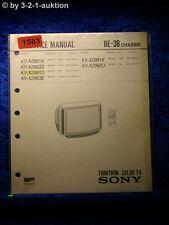 Sony Service Manual KV X2981A /D /K (#1583)