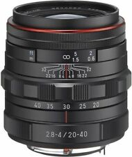 HD Pentax DA 20-40 mm / 2,8-4,0 ED Limited DC WR schwarz Neuware