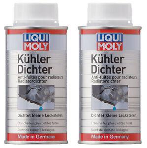 LIQUI MOLY Kühlerdichter 2x 150 ml Dose Auto Kühler Dichtmittel Additiv 3330
