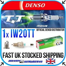 1x DENSO IW20TT (4709) IRIDIUM TT SPARK PLUG - WHOLESALE PRICE - IMPROVE MPG