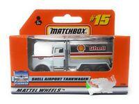 Matchbox MBX Superfast 1999 No 15 Peterbilt Airport Shell Tanker German issue
