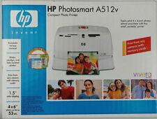 NIB HP A512v Compact Photo Printer PC/Mac