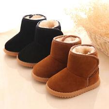 Mode Baby Kinder Mädchen Jungen Winter Schuhe Winterstiefel Boots warm gefüttert