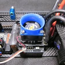 Venturi Air Intake Blue for 25mm fan Hobbywing Orion Graupner GM ESC  Air Duct