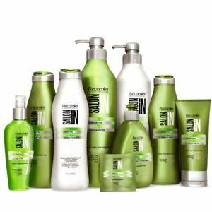 Keratin Ultra Force SalonIn Recamier Shampoo Conditioner Leave On Treatment