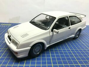 1/18 - MINICHAMPS - 1988 FORD SIERRA RS COSWORTH  - WHITE - MINT