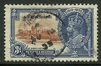 Album Treasures Sierra Leone Scott # 167 3p George V Silver Jubilee VFU CDS