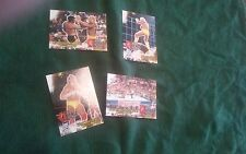 Hulk Hogan 2001 WWE Wrestlemania 4 card lot