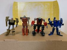 Bandai Gobots 3� Action Figures Lot For Parts