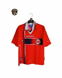 Vintage Original Norway Football Home Shirt 1997-1998 (Youths) Umbro Jersey