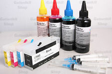HP 711 Quality Refillable Ink Cartridge Complete Kit Set for HP DesignJet T120