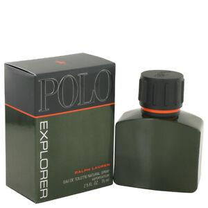 Polo Explorer Men's Cologne By Ralph Lauren 2.5oz/75ml Eau De Toilette