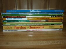 Lot of 11 How To~ Homeowner~ Kitchens, Sunrooms, Cabinets, Porches, Landscaping