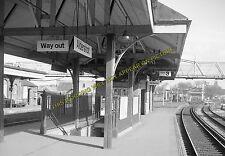 Aldershot Town Railway Station Photo.North Camp & Ash Vale - Farnham. L&SWR (18)