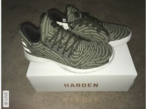 NEW Adidas James Harden Vol.1 LS Boost Primeknit Basketball Shoes Lace Up $160
