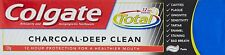 Colgate Toothpaste charcoal Deep Clean Total Tooth paste 120 grams 4.23 oz pack