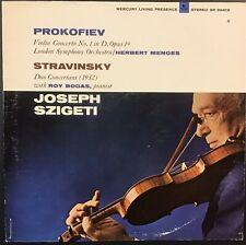 JOSEPH SZIGETI Prokofiev Stravinsky EX Vinyl LP MERCURY LIVING PRESENCE SR 90419