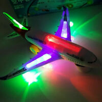 KIDS ELECTRIC LIGHT & MUSIC AIR PLANE AIRBUS A380/747 BUMP AND GO TOY  32CM