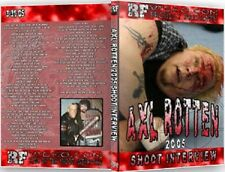Axl Rotten 2005 Shoot Interview Wrestling DVD, ECW