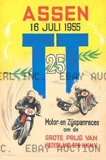 Dutch TT Assen 30th Anniversary Poster Print Image - Poster 1955 ca 8 x 10 print
