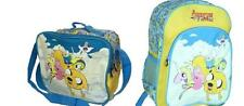 Adventure Time Lady Rainicorn Finn Jake Bubblegum Backpack Lunch Tote Bag Combo