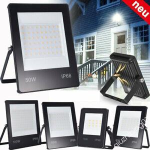 LED Floodlight 30W 50W 100W Outdoor Outside Garden Security Light Spotlight QW